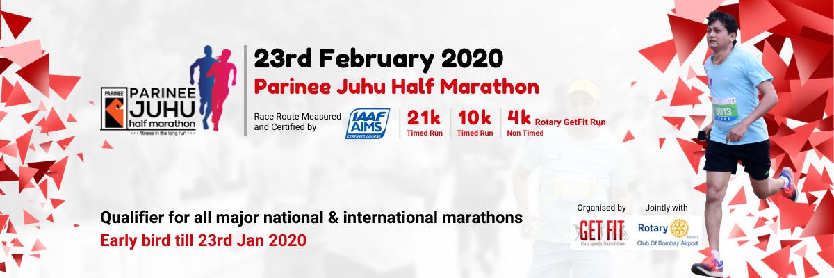 PARINEE JUHU HALF MARATHON 2020