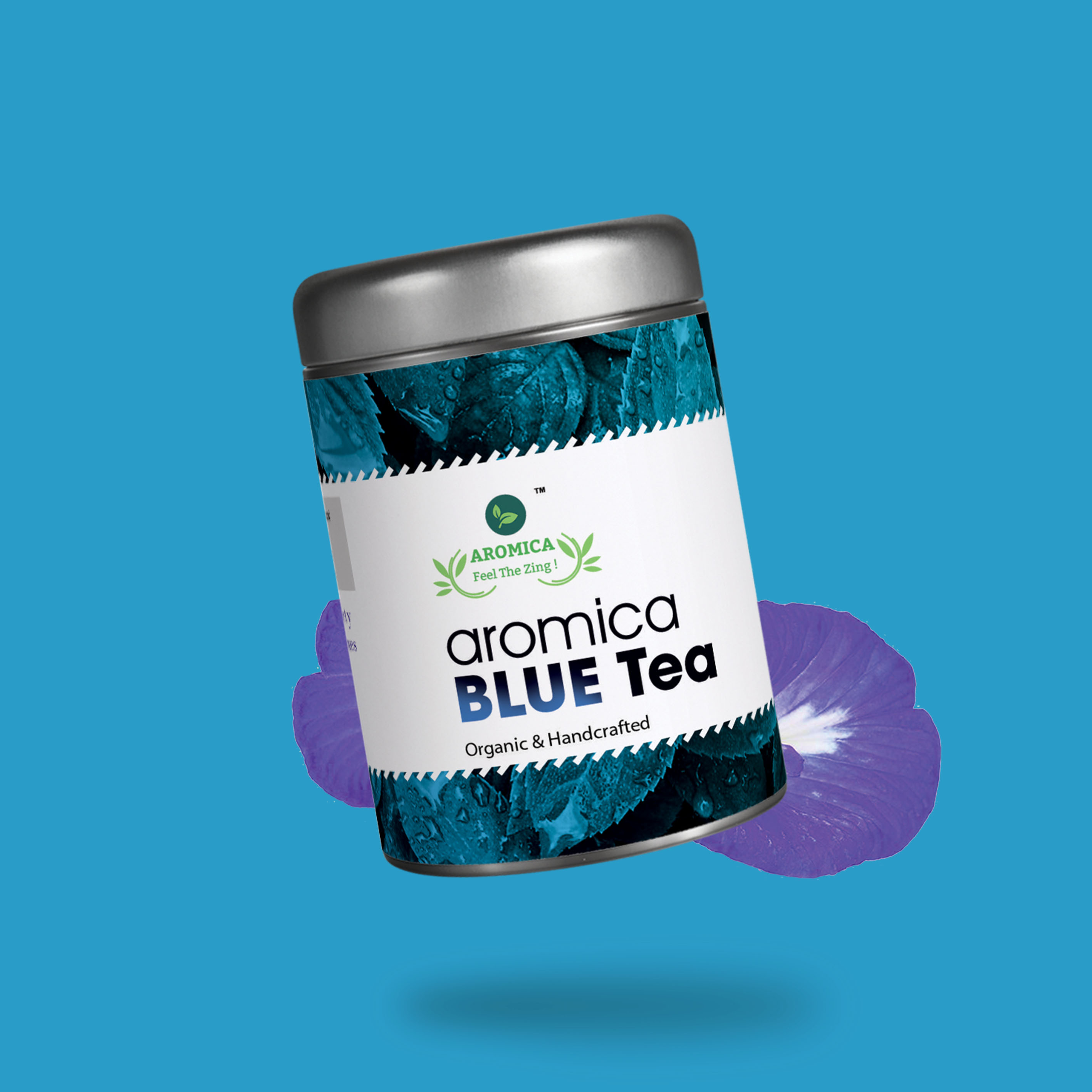 Aromica Blue Tea - 50 Gms