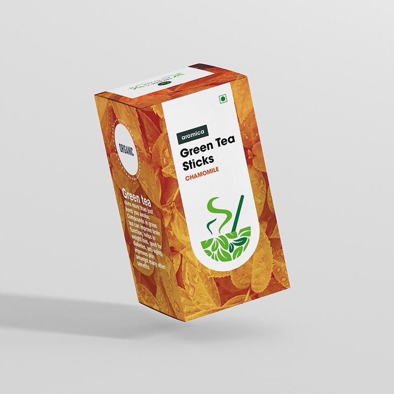 Aromica Chamomile Tea Sticks -  5pc