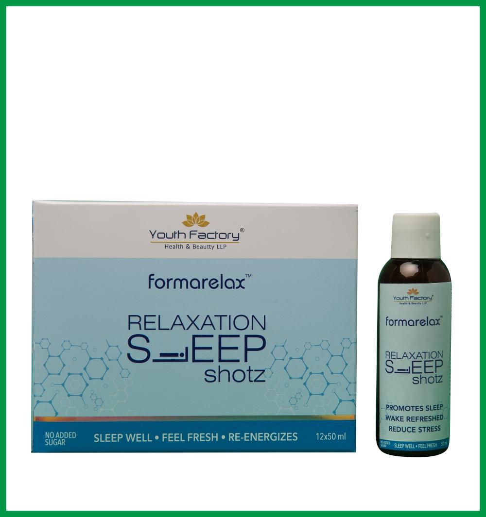 FORMA RELAX - SLEEPING SHOT (DRUG FREE, NATURAL INGREDIENTS)