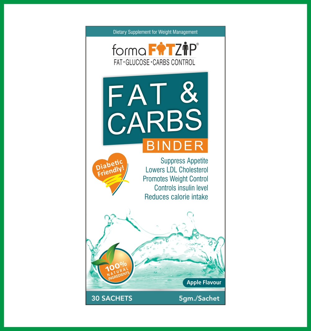 FORMA FATZIP - FAT AND CARB BINDER