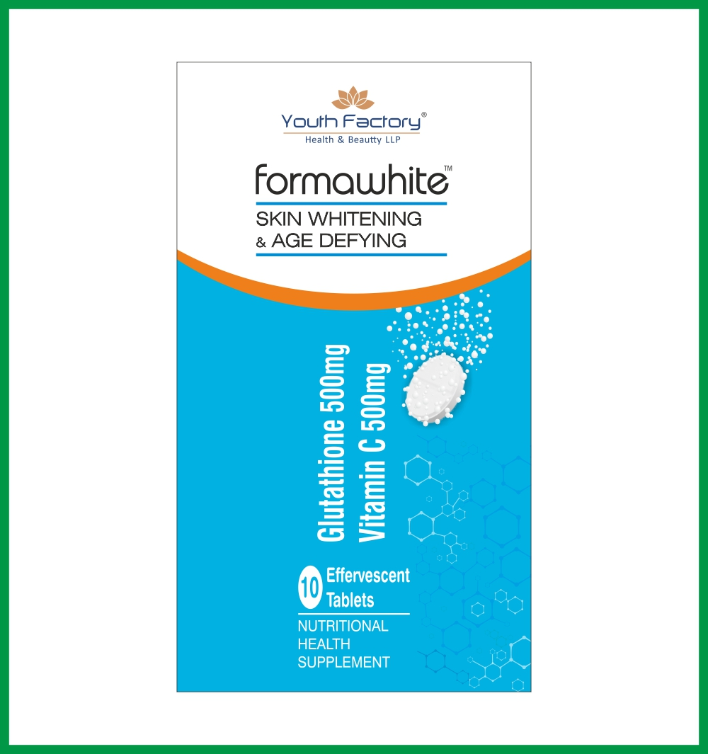 FORMA WHITE EFFERVESCENT - 10 IN EACH