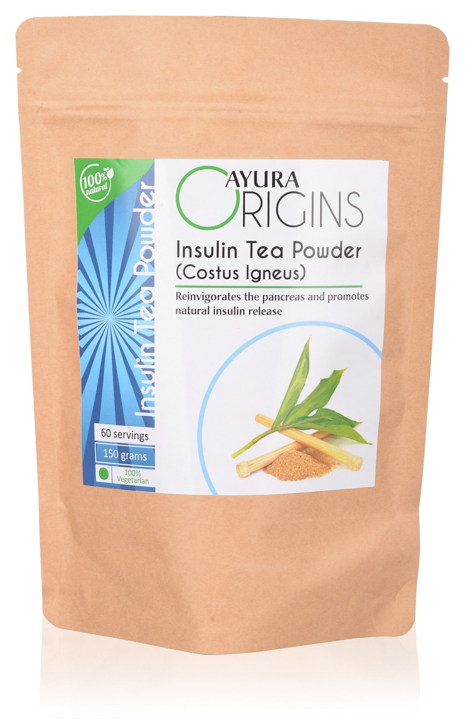 Insulin Tea (Costus Igneus) - 60 servings
