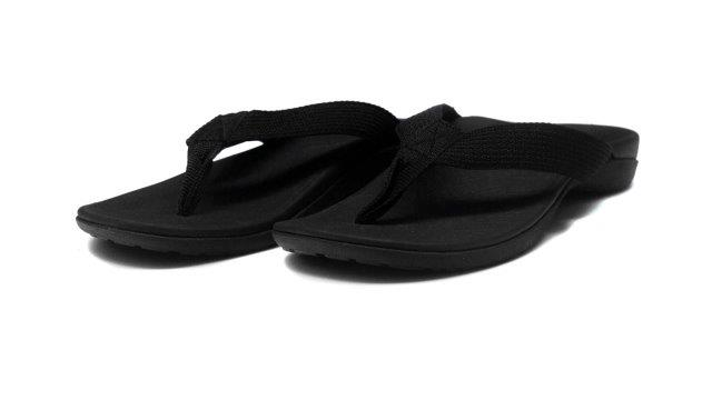 Axign Medical Flip Flops Black