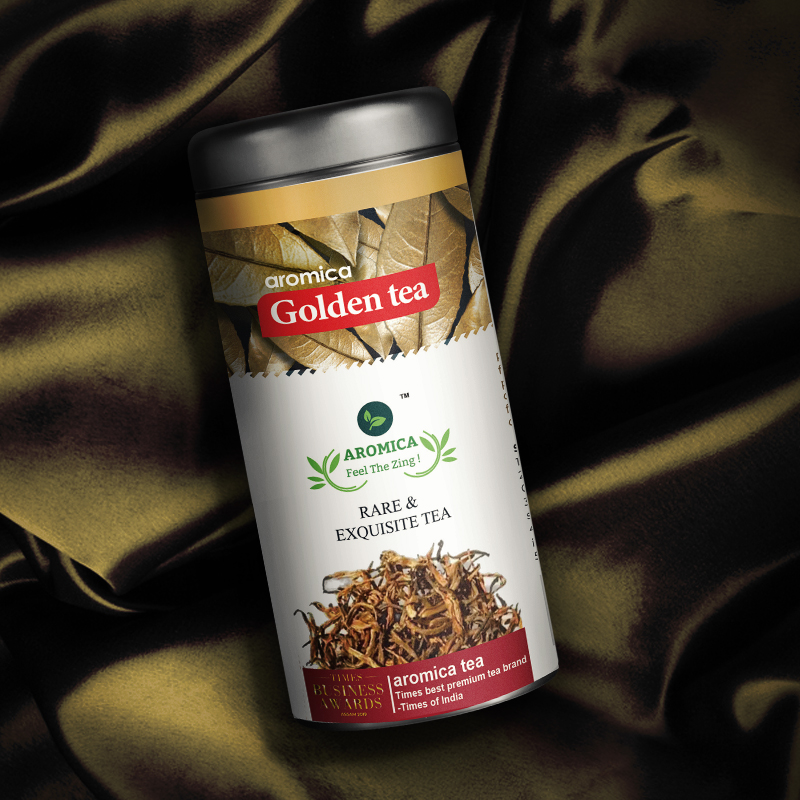 Aromica Golden Tea - 30 Gms