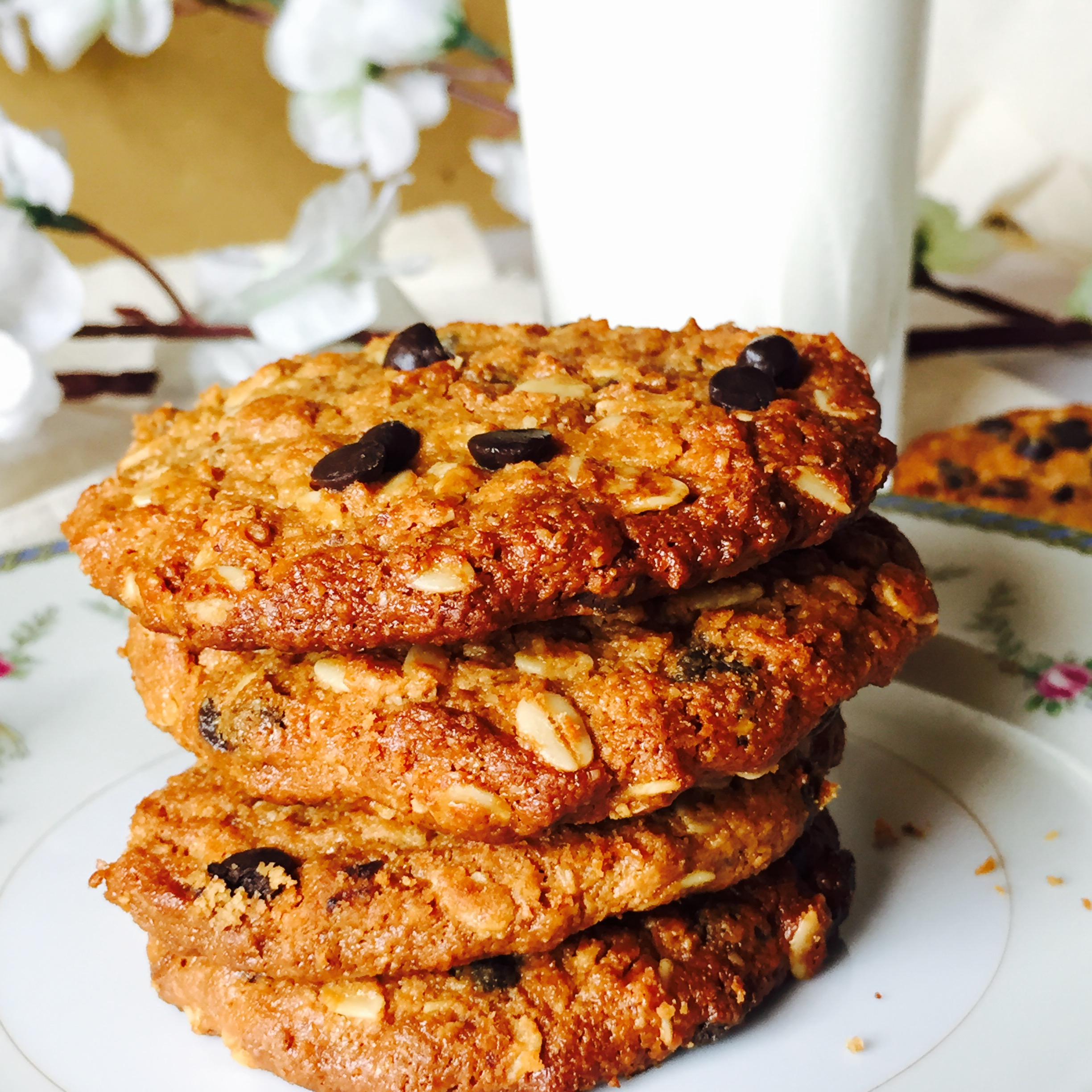 Guilt Free Chocolate Chip Cookies (20)