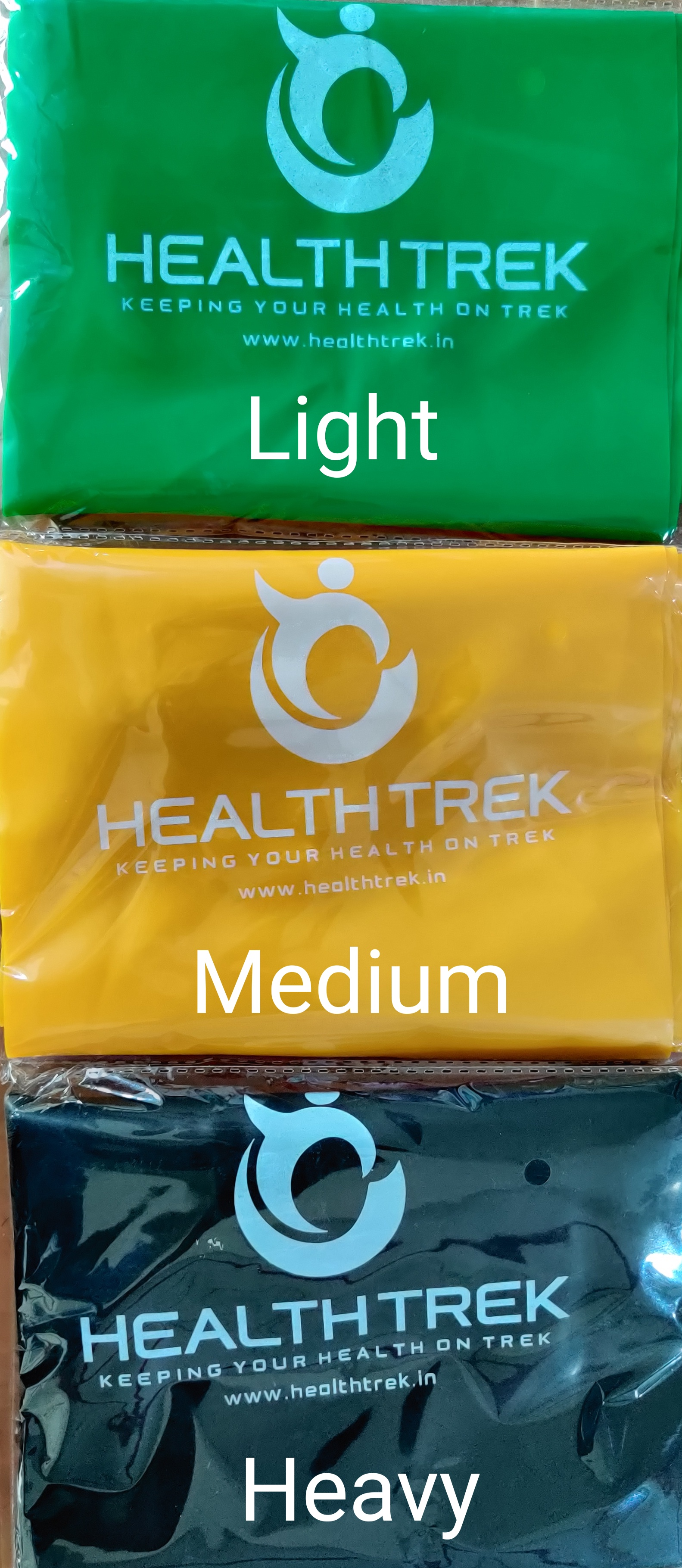 Healthtrek Fitness Resistance Bands (Light)