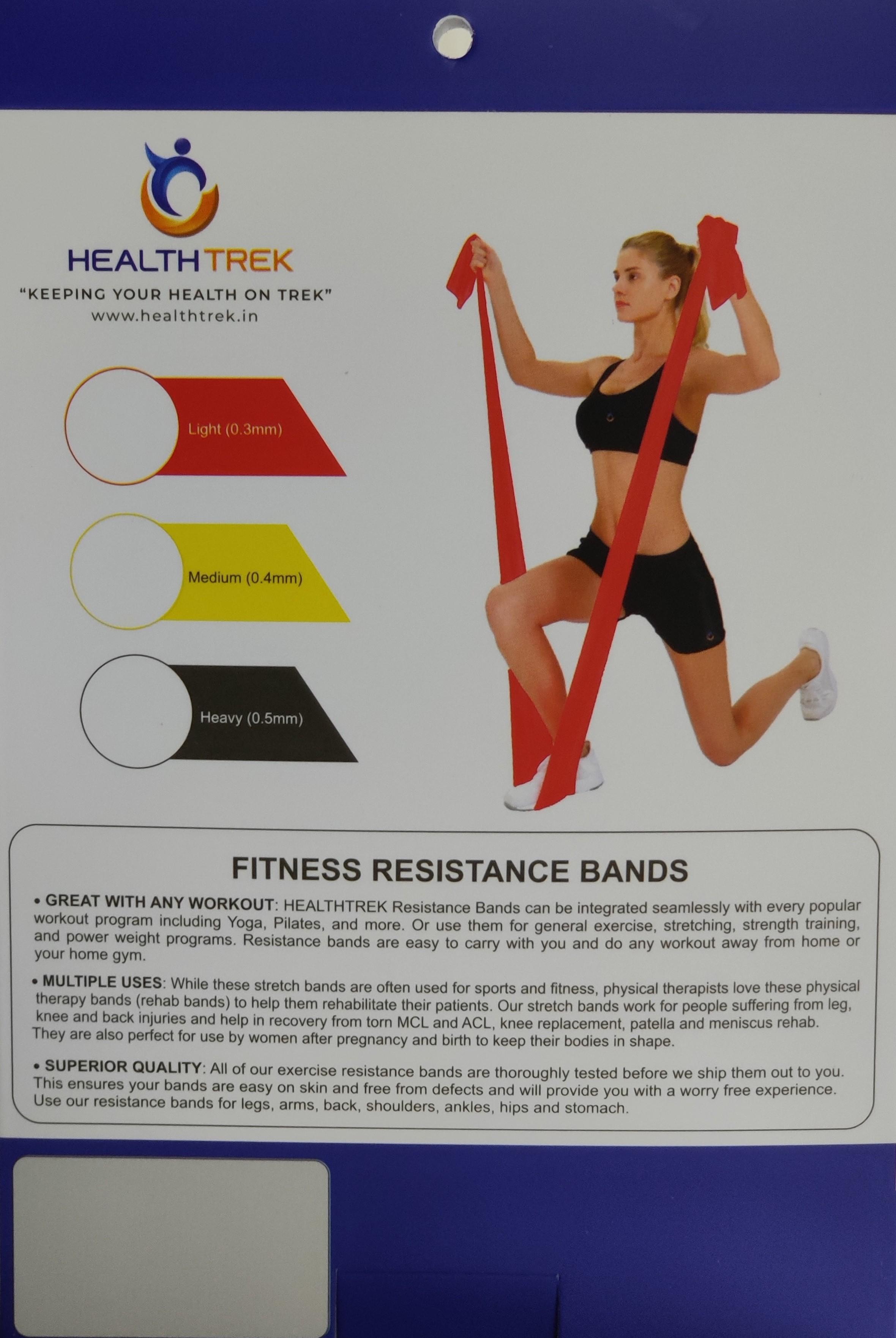 Healthtrek Fitness Resistance Band (Heavy)