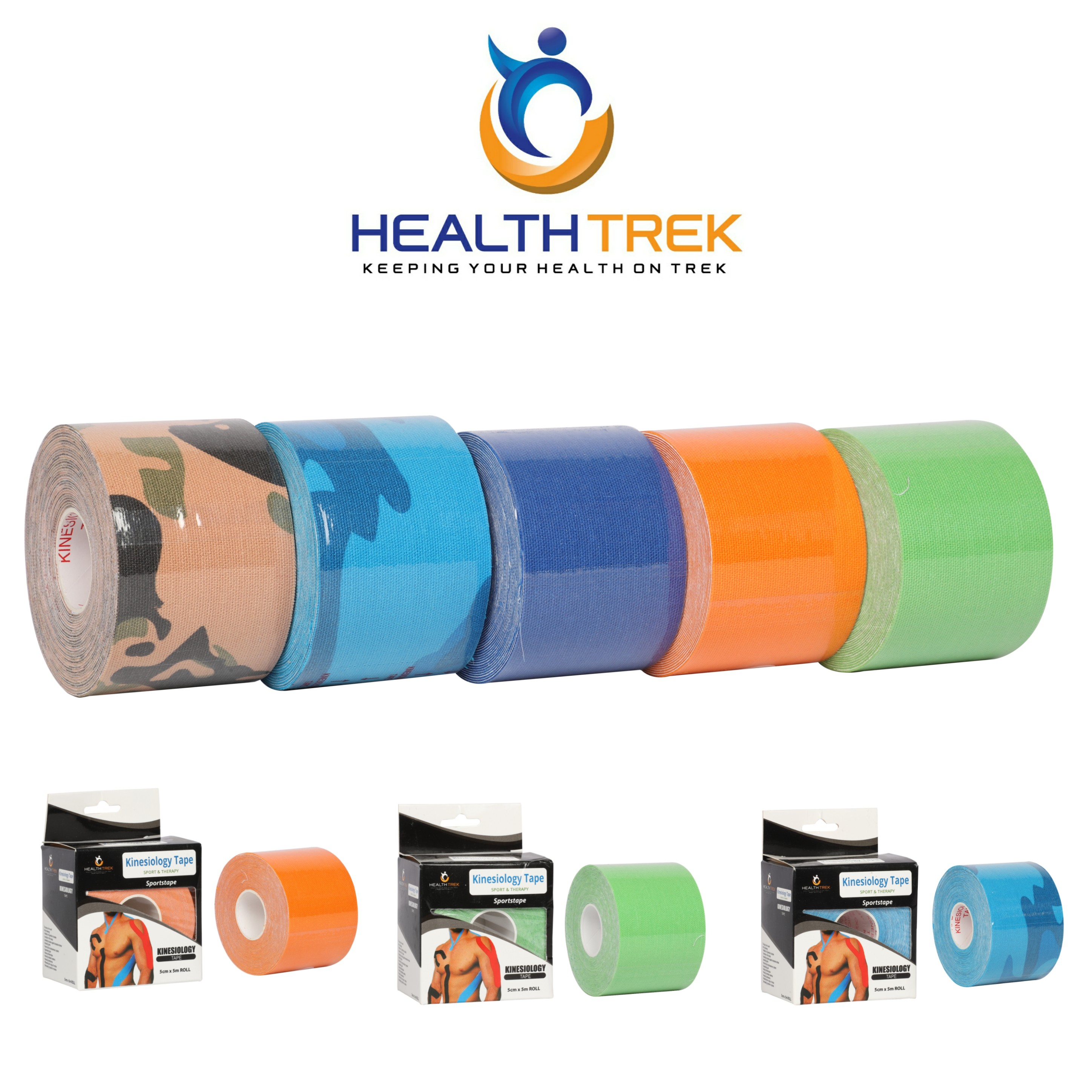 Healthtrek Therapeutic & Sports Kinesiology Tape