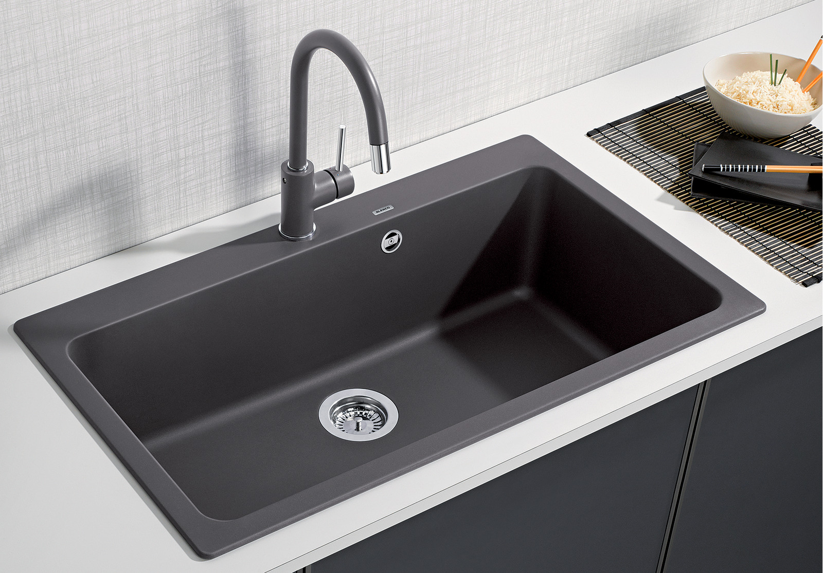 Blanco Naya XL 9 Single Bowl Quartz Sink