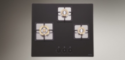 Elica 3 Burner Built In Gas Hob 60cm