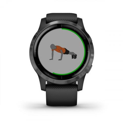 Garmin Vivoactive 4 GPS, Wi-Fi, Black/Slate, SEA