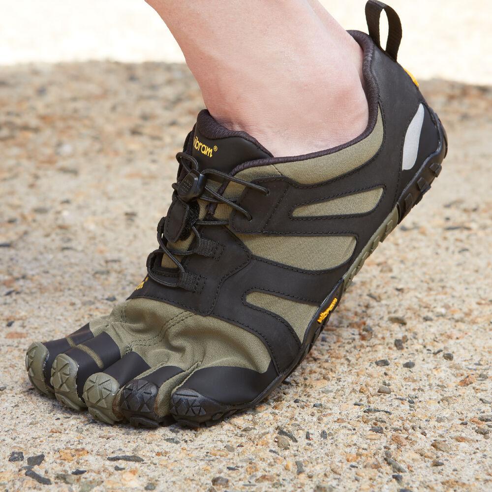 Vibram V-Trail Women's Shoes Ivy/Black
