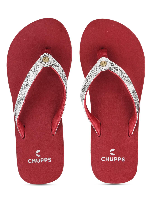 CHUPPS Women's Glitter Yoga Mat Flip Flops