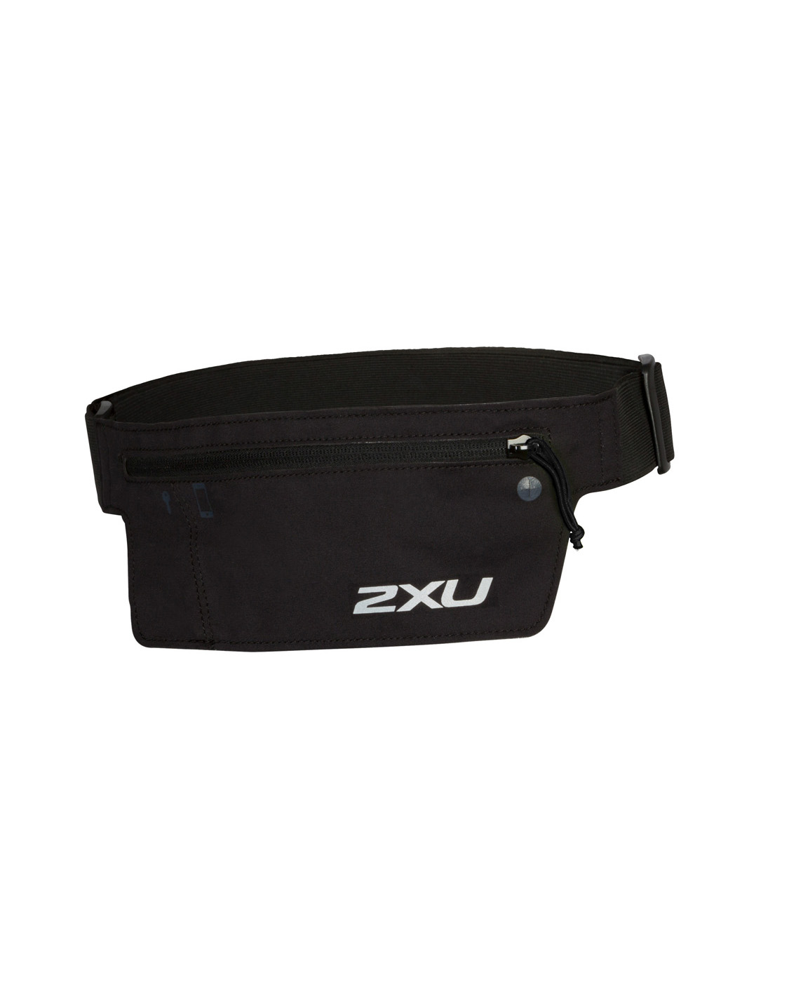 2XU Unisex Run Belt - Black/Black