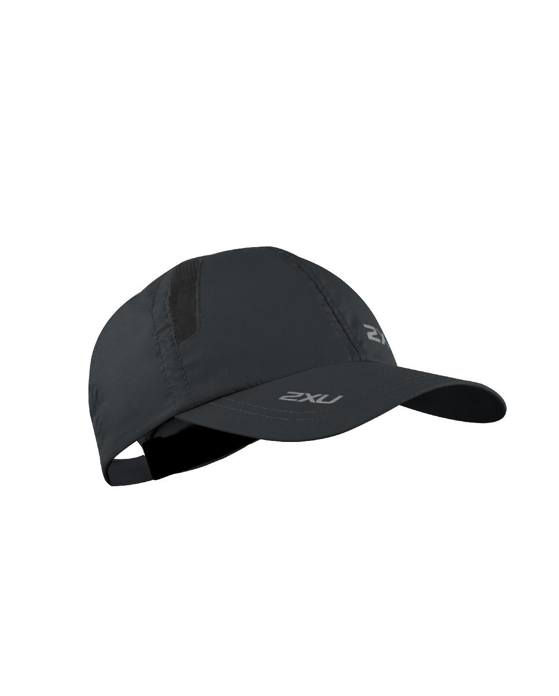 2XU Unisex Run Cap - Black/Black