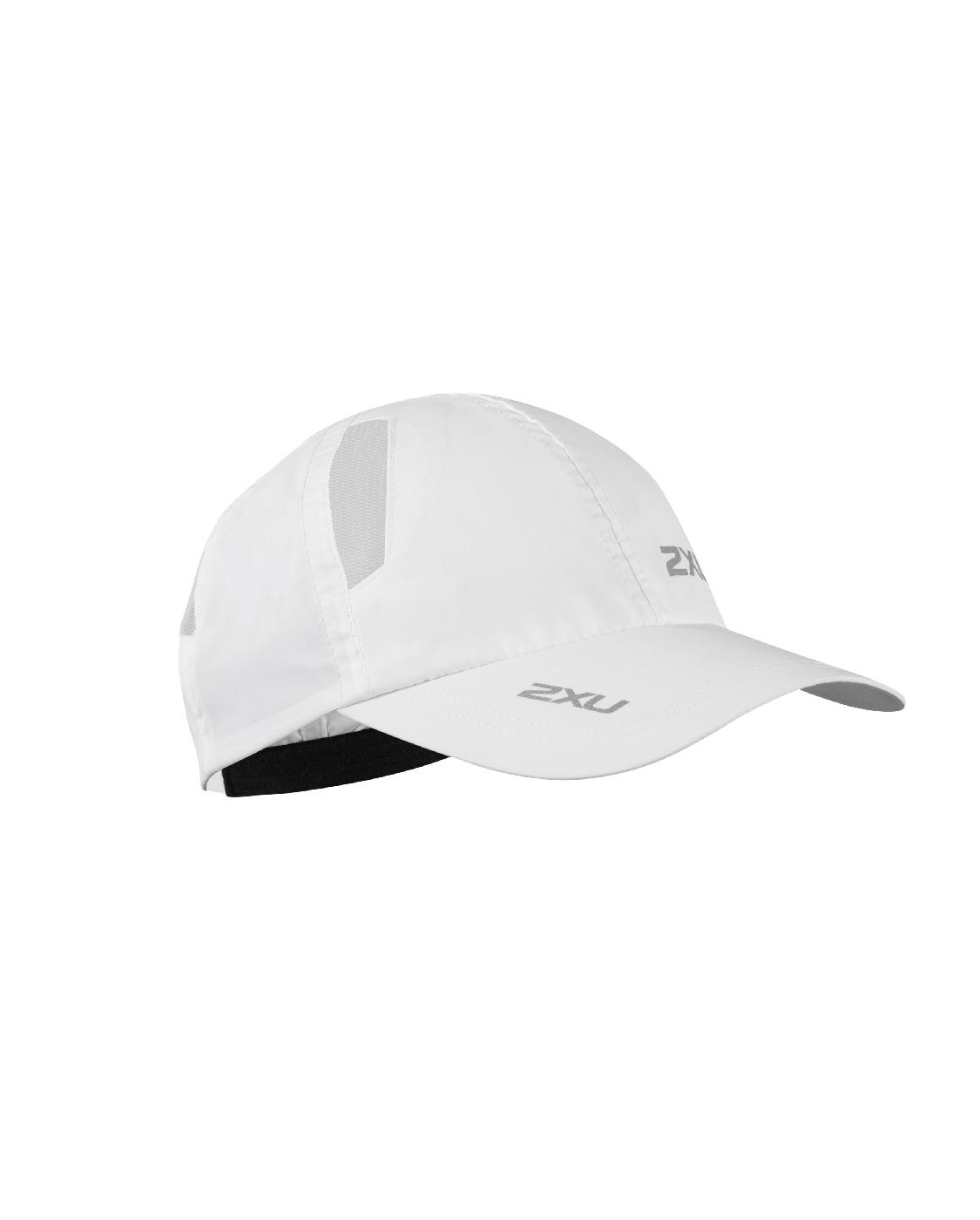 2XU Unisex Run Cap - White/White