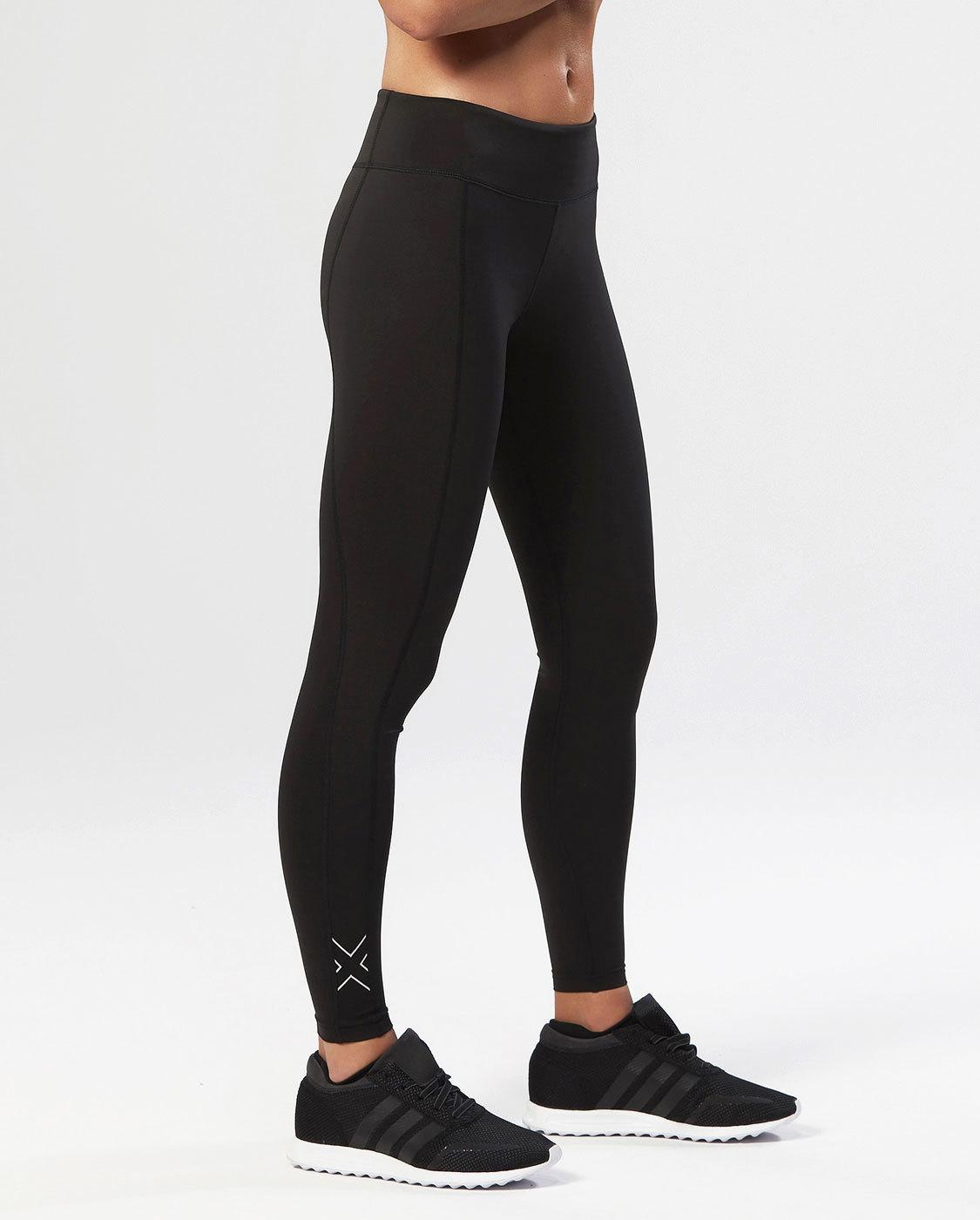 2XU Women's Fitness Compression Tights - Black/Silver