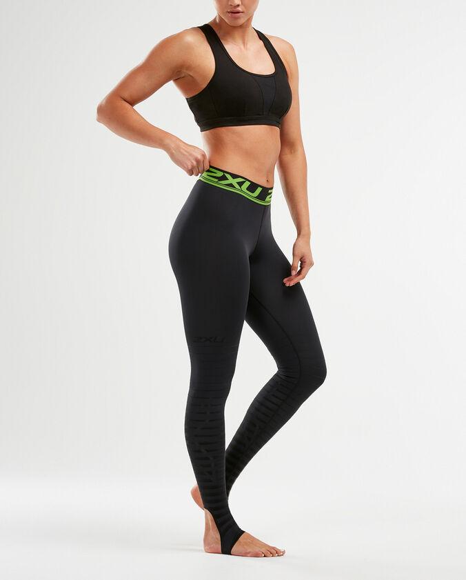 2XU Women's Power Recovery Compression Tights - Black/Nero