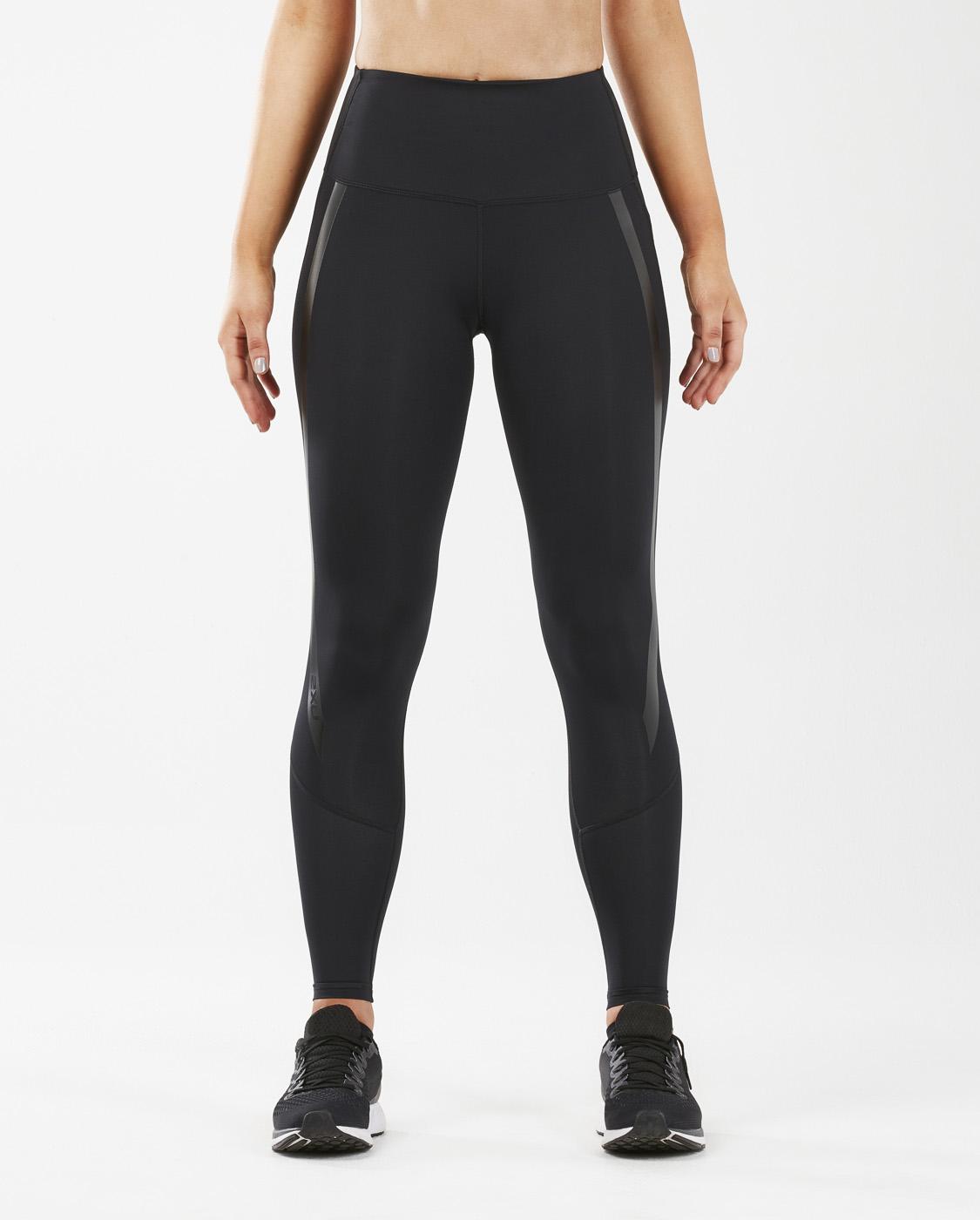 2XU Women's Hi-Rise Compression Tights - Black/Nero