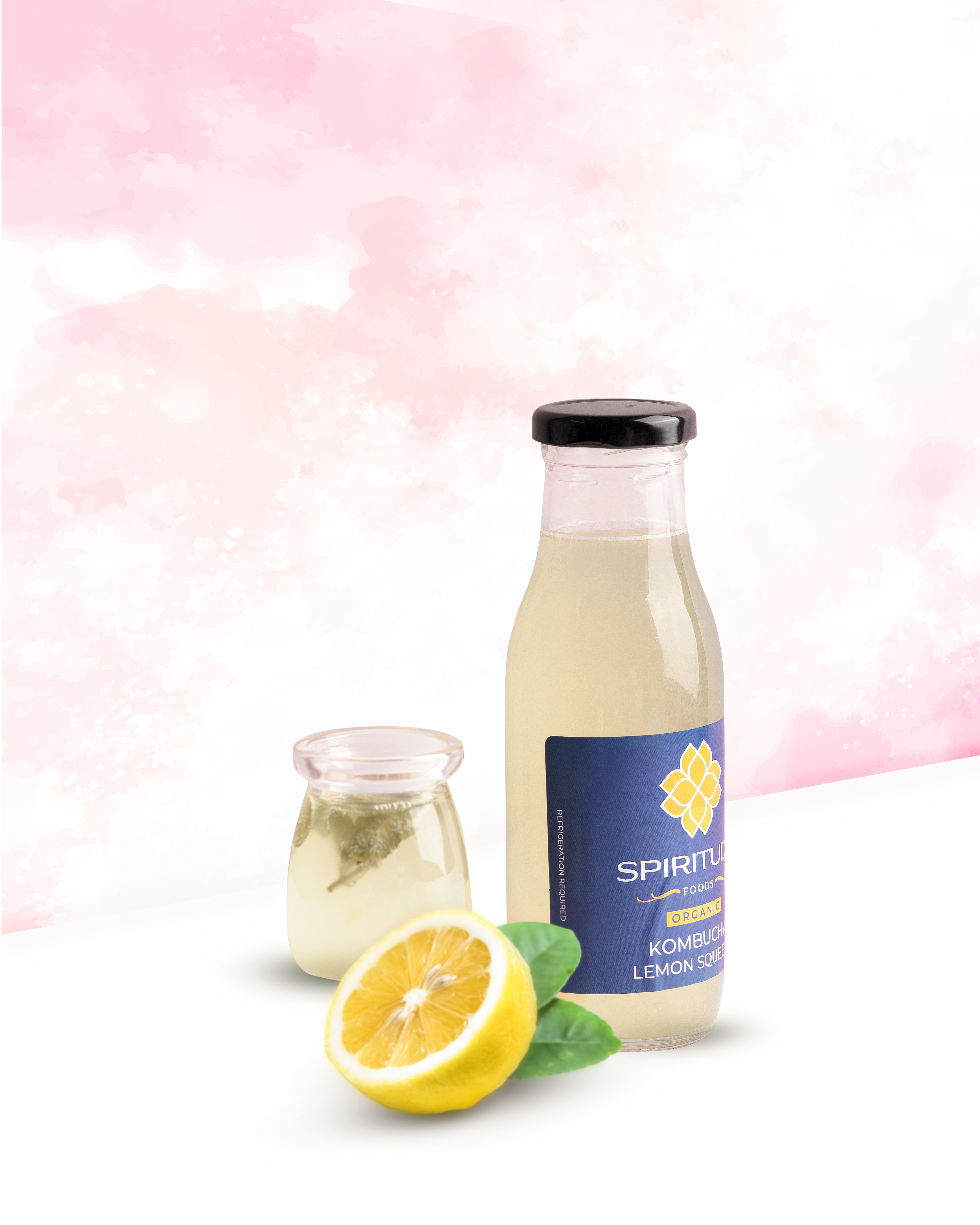 Spiritude Organic Kombucha ( Citrus Tango )