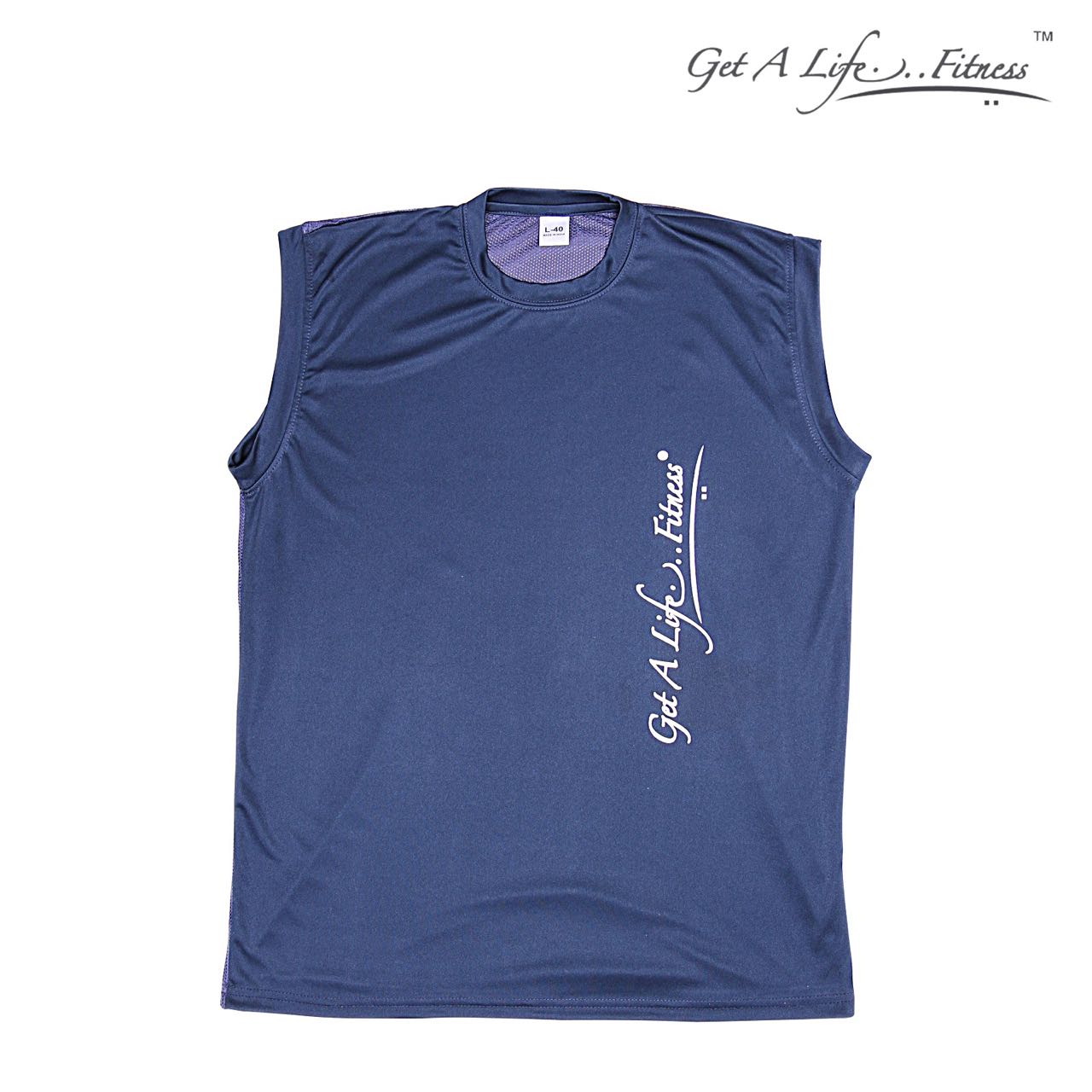 Premium Men Blue Half Sleeve