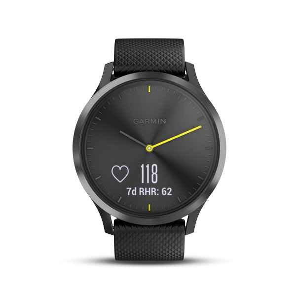 Garmin Vivomove HR Black Sport