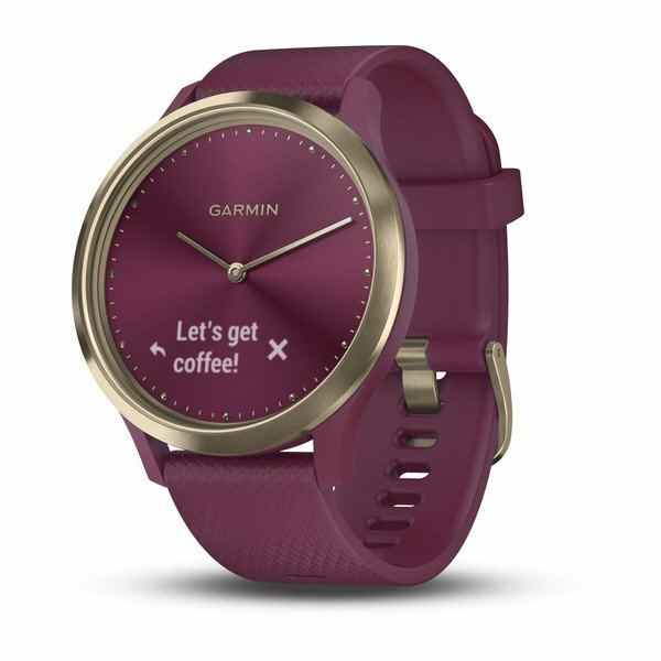 Garmin Vivomove HR Merlot Gold