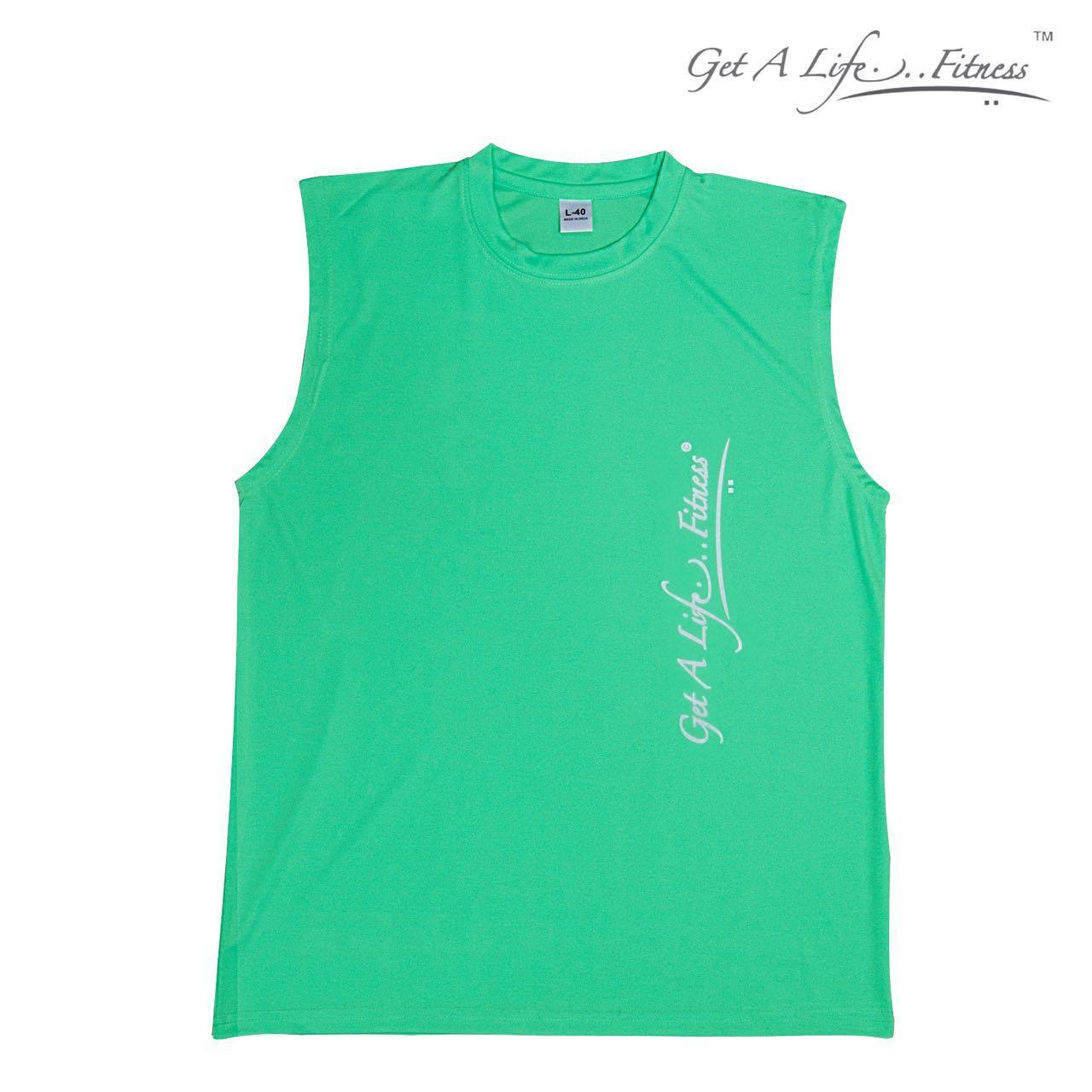 Premium Men Green Half Sleeve
