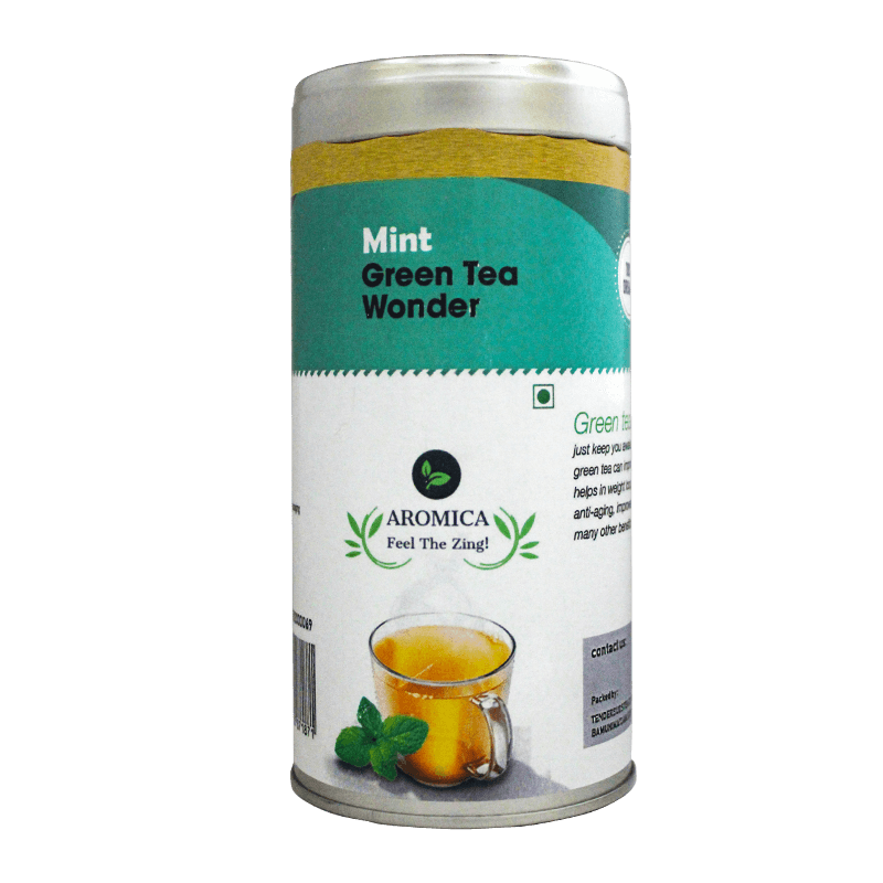 Mint Green tea wonder - 100gms