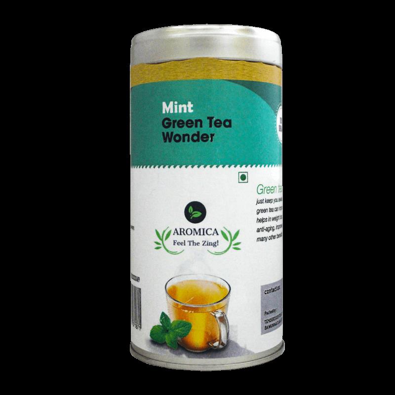 Mint Green Tea Wonder - 100gms