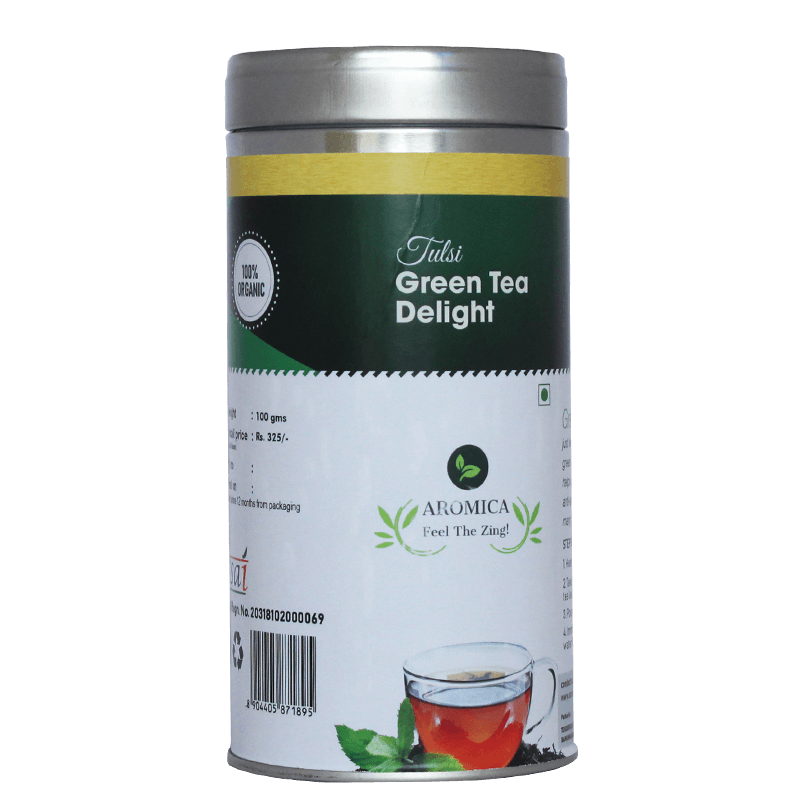 Tulsi Green tea Delight - 100gms