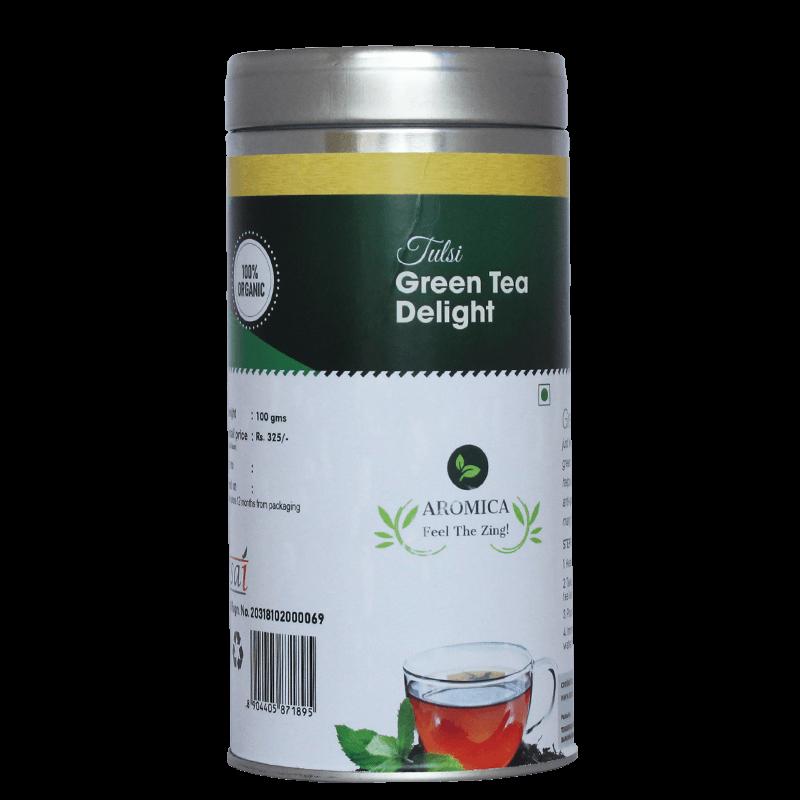Tulsi Green Tea Delight - 100gms