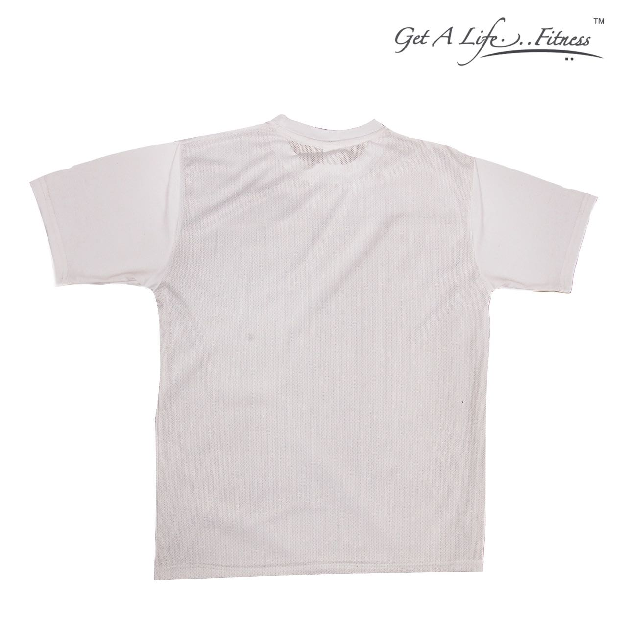 Premium Men White Round Neck T-Shirt