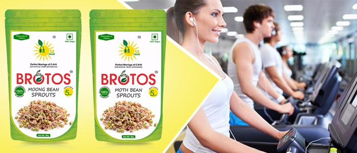 BROTOS MIX BEAN SPROUTS